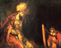 Saul and David, by Rembrandt, c. 1650